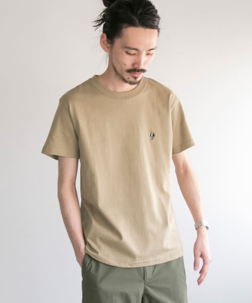 [URBAN RESEARCH][別注ROSTER BEAR T-SHIRTS]
