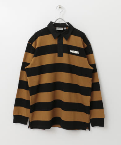 carhartt LONG-SLEEVE EASTON RUGBY ポロシャツ