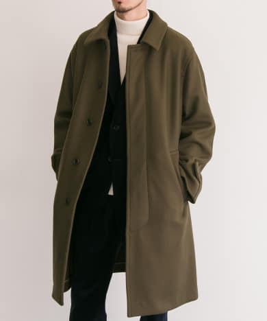 FREEMANS SPORTING CLUB BAL COLLAR COAT