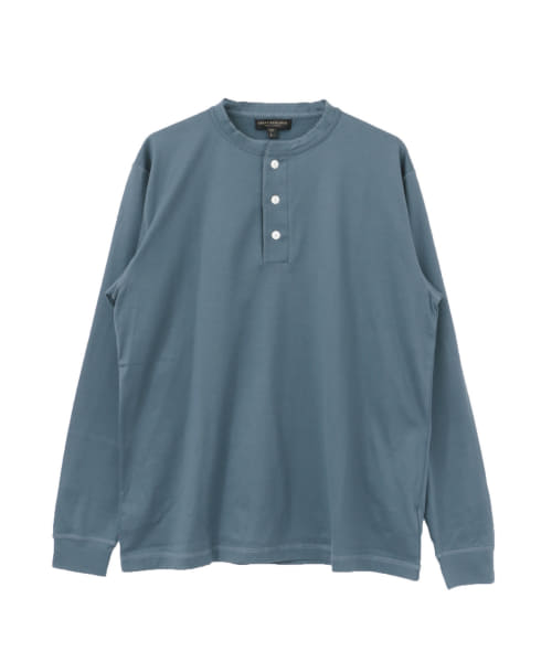 [URBAN RESEARCH][UR Tailor HENLEY NECK LONG-SLEEVE T-SHIRTS]