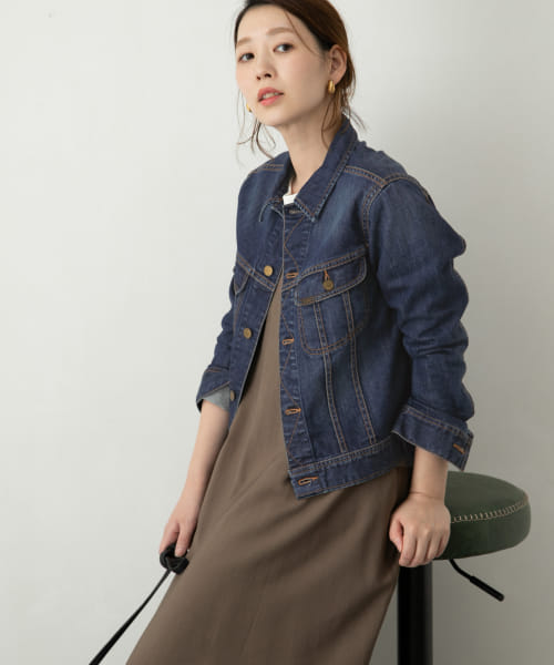 [ROSSO][【WEB限定】ROSSO×Lee <別注>DENIM JACKET]