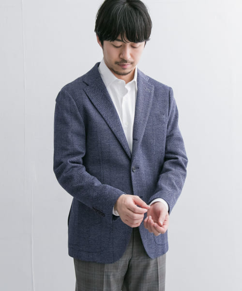 [URBAN RESEARCH][URBAN RESEARCH Tailor JAPANFABRICニットジャケット]