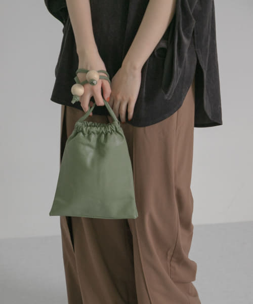 [LAATO][PURSE BALL BAG]