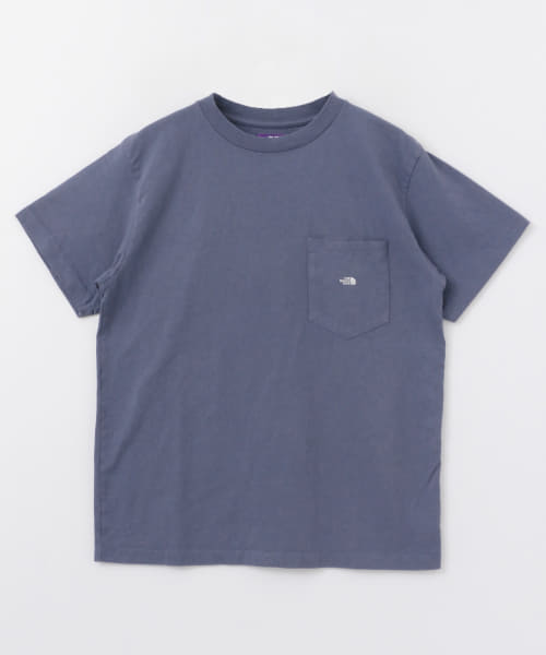 [URBAN RESEARCH][THE NORTH FACE PURPLE LABEL 7OZ H/S POCKET TEE]
