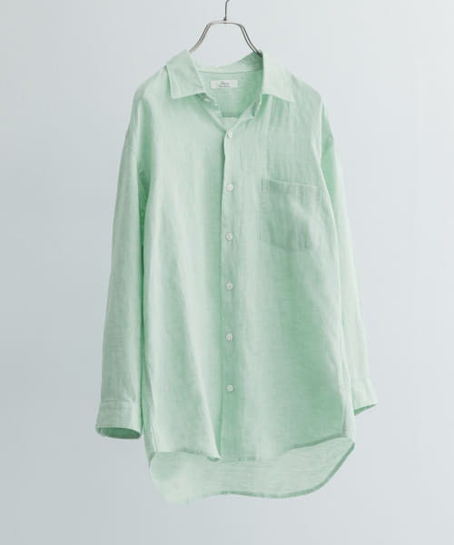 [URBAN RESEARCH][EUROPEAN LINEN SHIRTS]