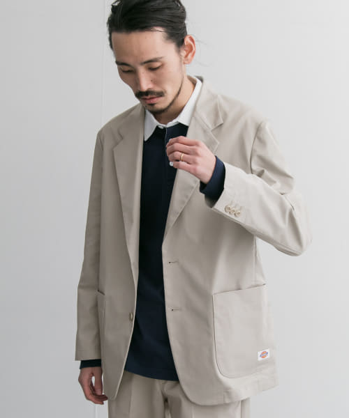 [URBAN RESEARCH][Dickies×URBAN RESEARCH iD 別注 T/C JACKET]