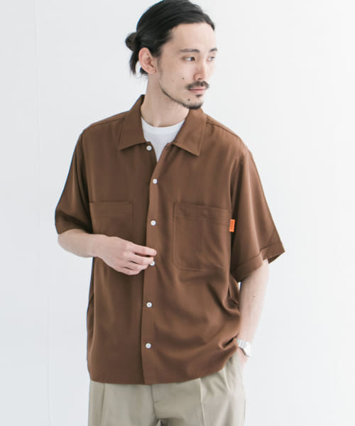 [URBAN RESEARCH][【別注】UNIVERSAL OVERALL×URBAN RESEARCH オープンカラーシャツ]