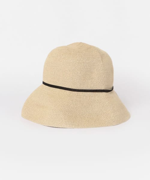 [かぐれ][mature ha. WP paper braid light hat]