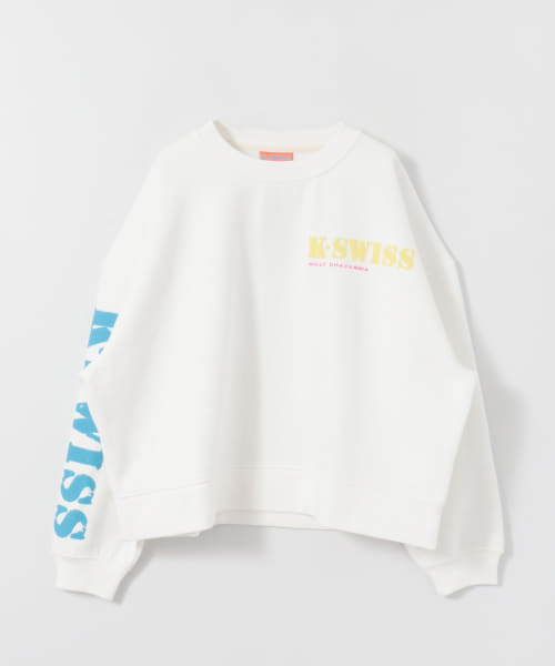 [URBAN RESEARCH][WILLY CHAVARRIA×K・SWISS BIG ASS CREW NECK]