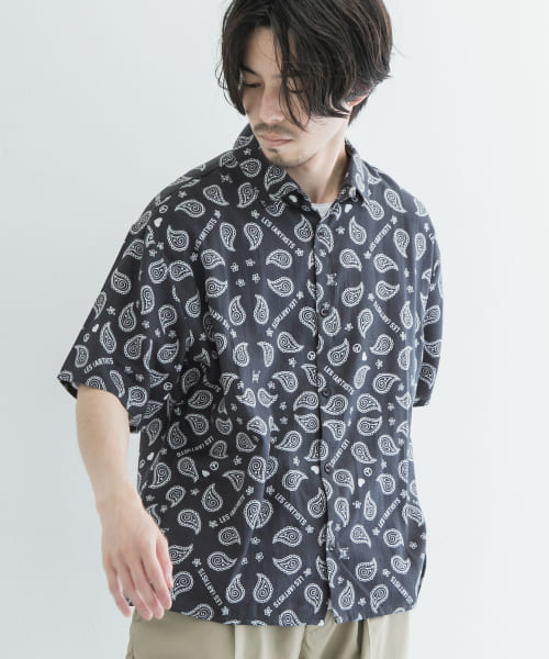 [URBAN RESEARCH][LES ARTISTS LIGHT SHIRTS WITH PRINT]
