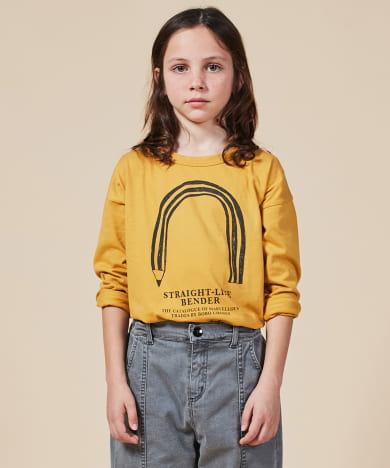 BOBO CHOSES StraightLineBender L/S T-shirts
