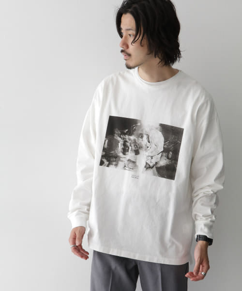[Sonny Label][CAL O LINE CHARLES PETERSON LONG-SLEEVE T-SHIRTS]
