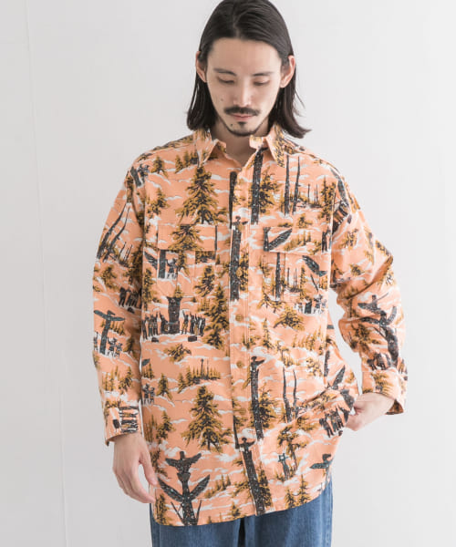 [URBAN RESEARCH][YOUNG&OLSEN TIN STRAP TOTEM NEL SHIRTS]