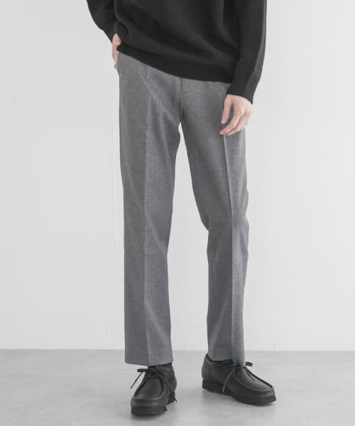 [URBAN RESEARCH][SOLOTEX WOOLLY PANTS]