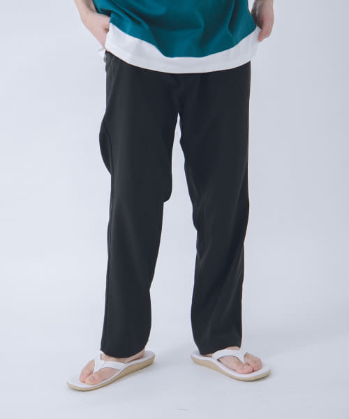 [URBAN RESEARCH][URBAN RESEARCH iD LINEN LIKE TAPERED PANTS]