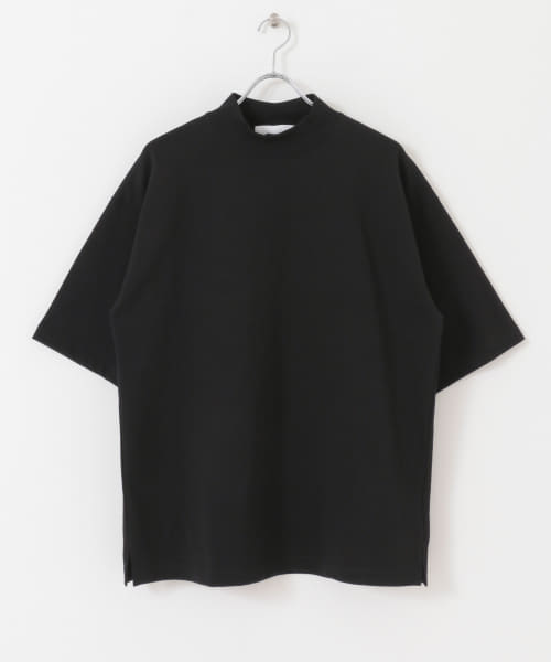[URBAN RESEARCH][URBAN RESEARCH iD MOCK NECK SHORT-SLEEVE T-SHIRTS]