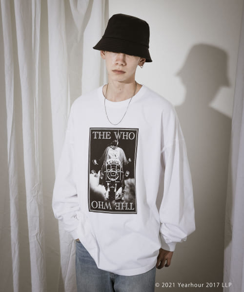 [URBAN RESEARCH][URBAN RESEARCH iD THE WHO LONG-SLEEVE]