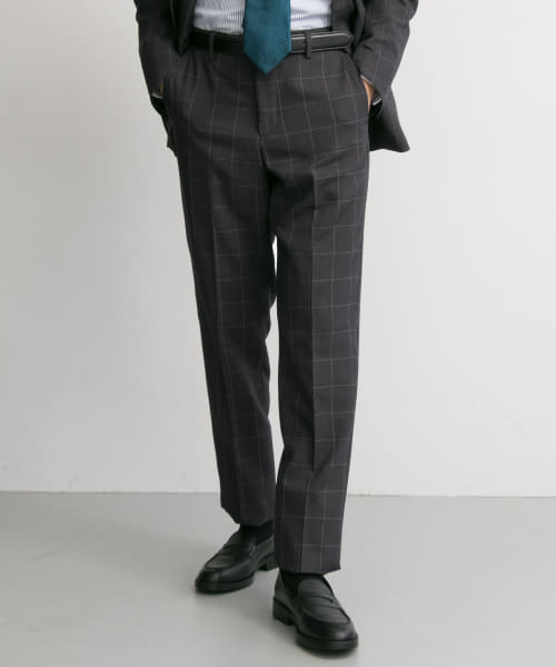[URBAN RESEARCH][URBAN RESEARCH Tailor アーバンアスレチックウインドウペンパンツ]