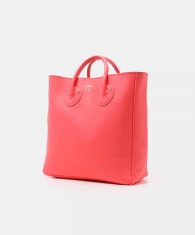 YOUNG&OLSEN EMBOSSED LEATHER TOTE M