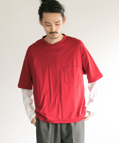 [URBAN RESEARCH][BUKHT×URBAN RESEARCH LAYERED LONG-SLEEVE T-SHIRTS]