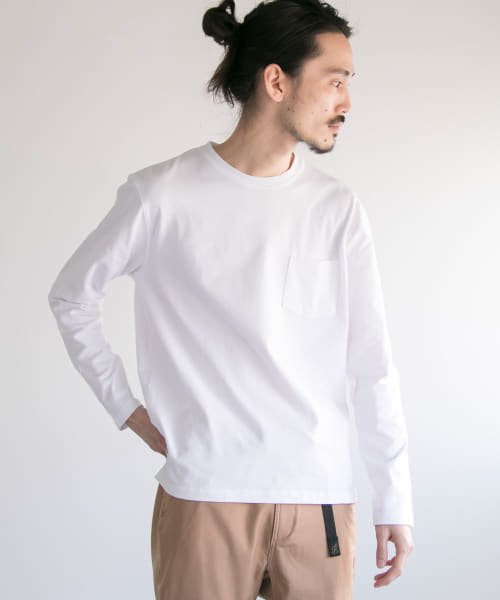 [URBAN RESEARCH][Comfort Regular Long-Sleeve T-Shirts]
