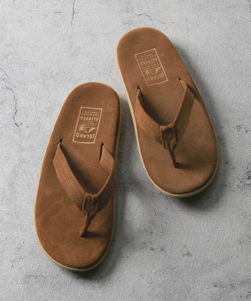 [URBAN RESEARCH][ISLAND SLIPPER×URBAN RESEARCH 別注ナロートングサンダル]