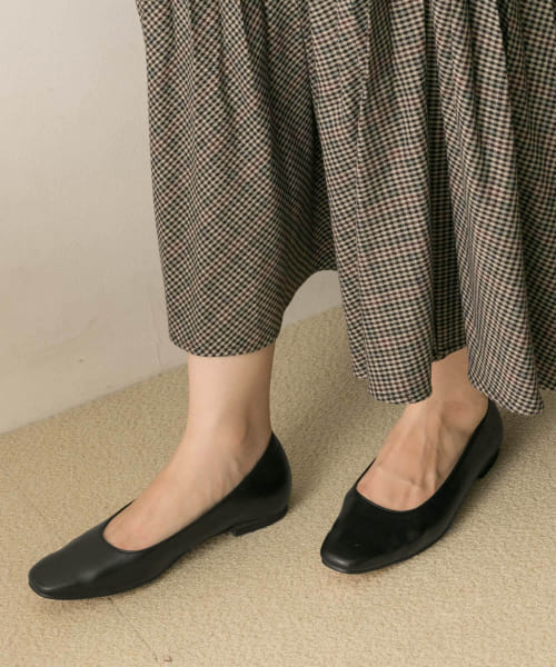 [URBAN RESEARCH][MILLIWM×URBAN RESEARCH 別注SquareFlatShoes]