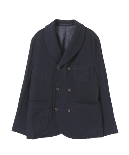 [FREEMANS SPORTING CLUB][FREEMANS SPORTING CLUB INDIGO SASHIKO DB JACKET]
