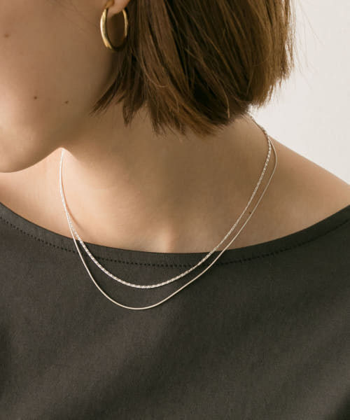 [URBAN RESEARCH][Silver925 2連ネックレス]