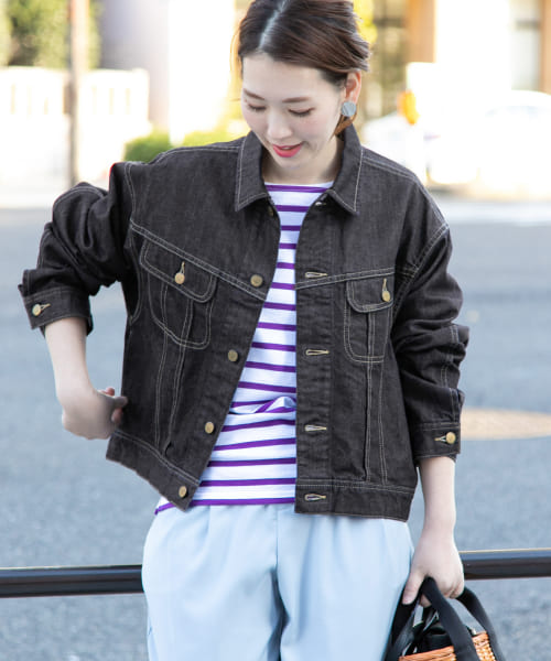 [ROSSO][ROSSO×Lee <別注>OVER SIZE DENIM JACKET]