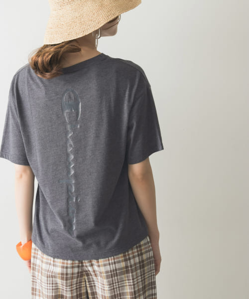 [URBAN RESEARCH][Champion×URBAN RESEARCH TCR バックプリントTシャツ]
