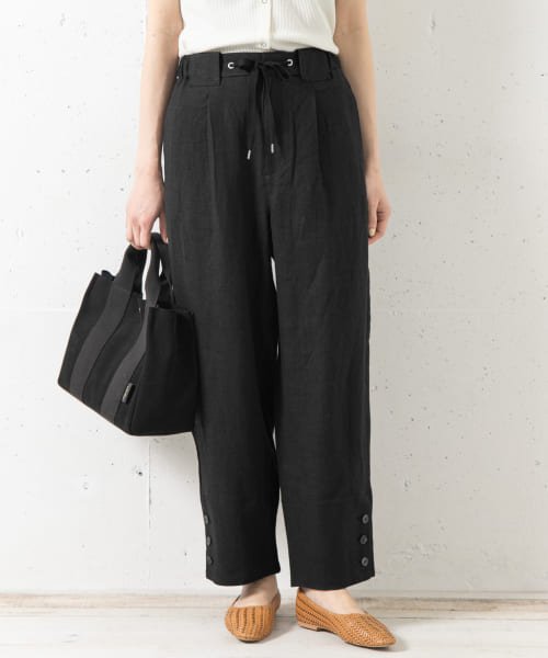 [Sonny Label][Moname RELAX TROUSERS]