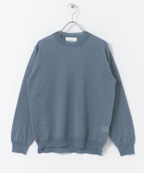 [DOORS][UNIFY Ramie Sheer Knit PULLOVER]