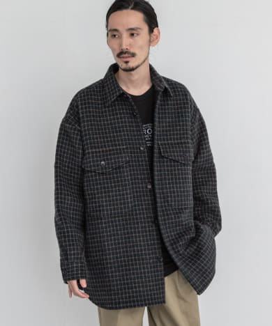 is-ness CPO SHIRTS JACKET