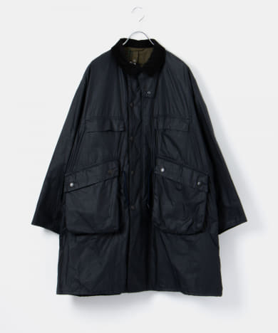 KAPTAIN SUNSHINE x Barbour SC Traveller Coat