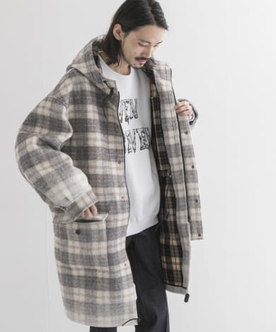 7X7 FULL ZIP PARKA COAT