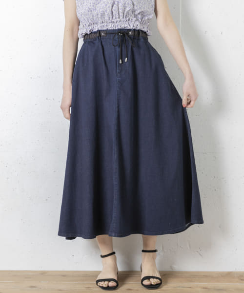 [Sonny Label][Moname EASY FLARE SKIRT]