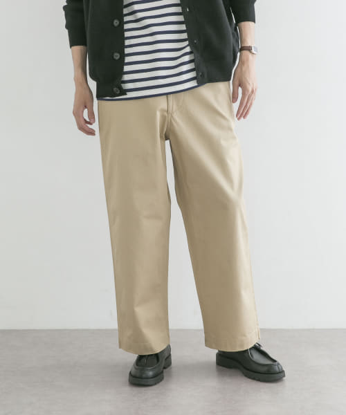 [URBAN RESEARCH][ARMY CHINO TROUSERS]