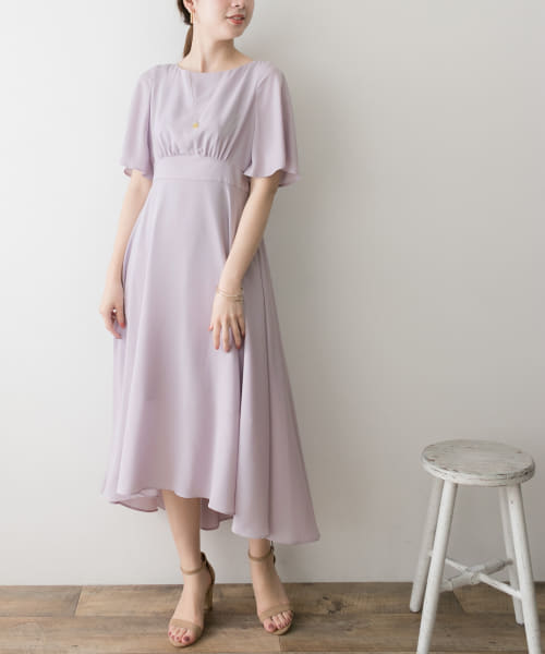 [URBAN RESEARCH][COUTURE MAISON ウエストキリカエロングドレス]