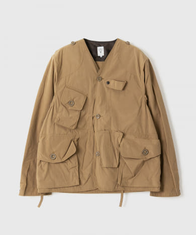 South 2 West 8 Tenkara Shirt - Wax Coating EJ780-BSM94: Tan