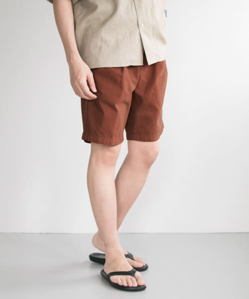 [URBAN RESEARCH][TWILL COLOR SHORTS]