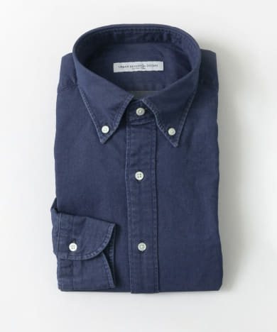 LIFE STYLE TAILOR INDIGO BUTTONDOWN SHIRTS