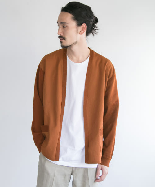 [URBAN RESEARCH][RAMIE DOCKING CARDIGAN]