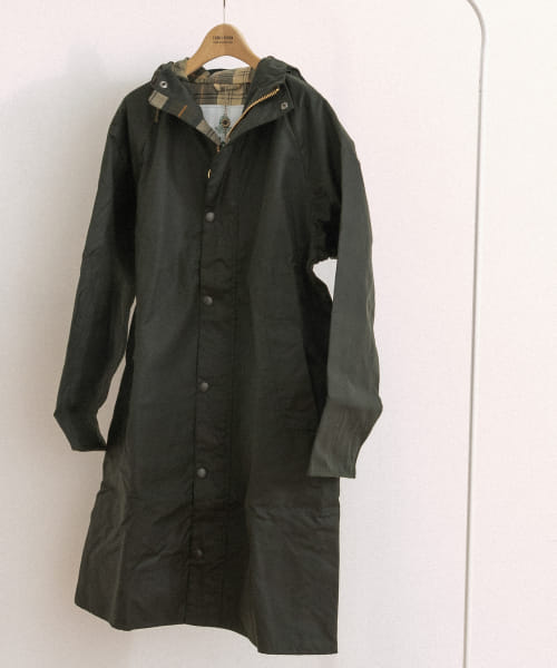 [FORK&SPOON][Barbour HOODED HUNTING WAX]