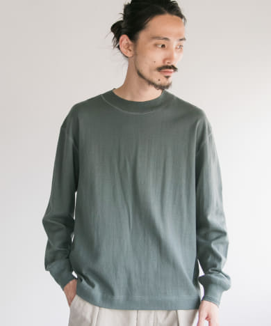 MHL.×URBAN RESEARCH ROUGH COTTON JERSEY