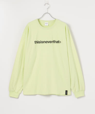 THISISNEVERTHAT T-Logo Long-Sleeve Top