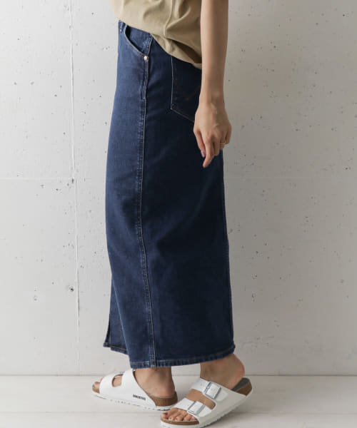 [DOORS][Wrangler×DOORS 別注SLIT LONG SKIRT]
