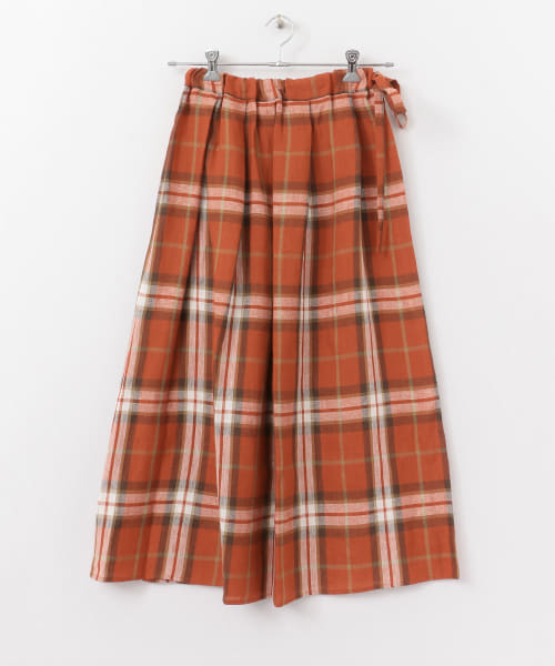 [かぐれ][O'NEIL OF DUBLIN Draw Tuck Skirt]