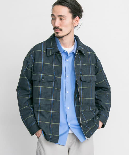 [URBAN RESEARCH][URBAN RESEARCH iD CHECK CPO JACKET]
