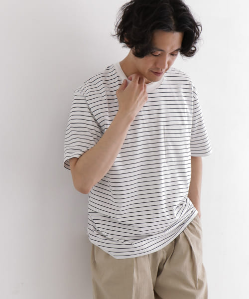 [DOORS][handvaerk crew neck short-sleeve t-shirts]